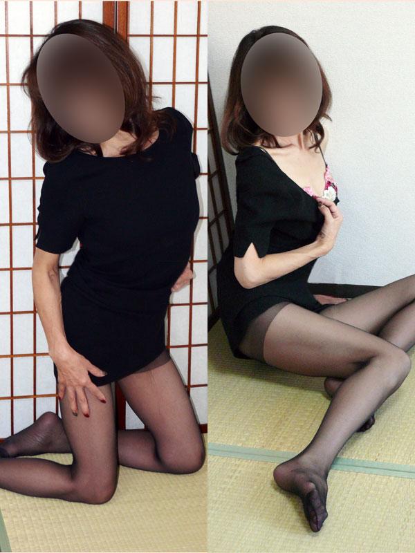 千葉危険な情事-喪服の未亡人@さくら