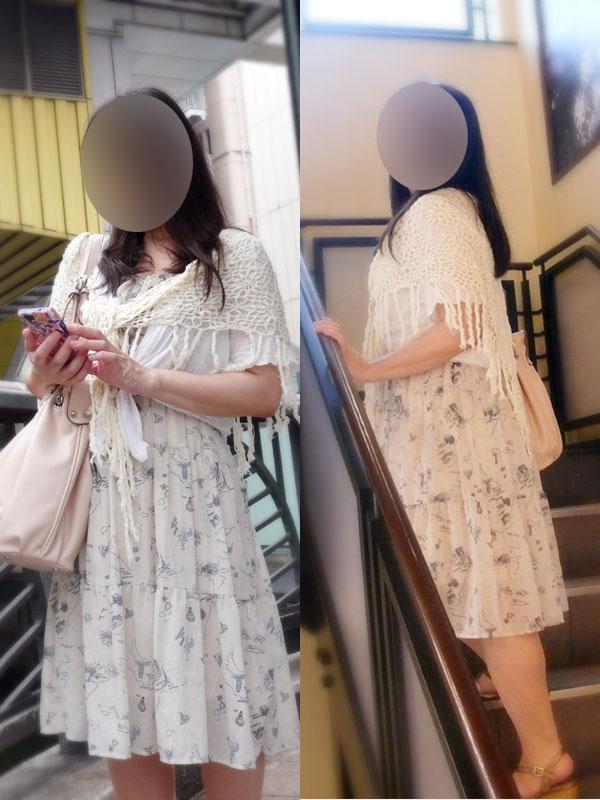 千葉可愛い熟女&おいしい人妻@しおり 1枚目